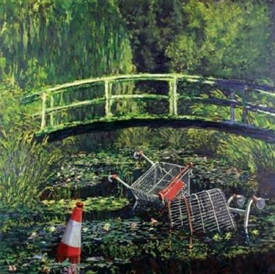 Banksy / Monet