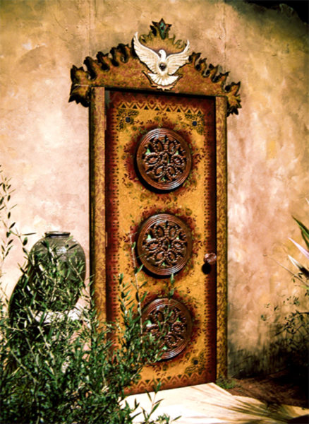 Garden Show Door, by David Wayne Floyd