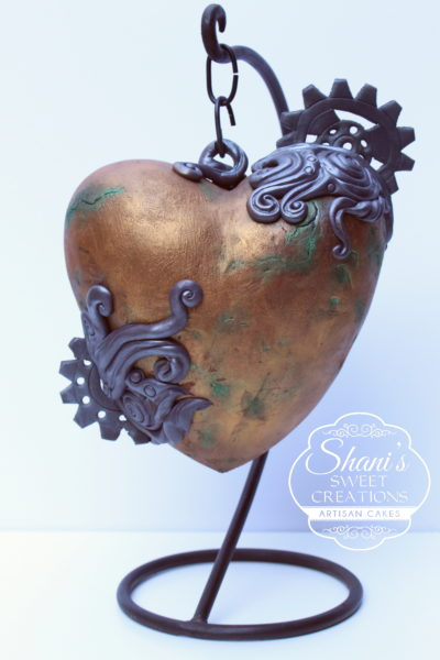 steampunk-heart-cake