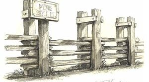 Mike Henderson - For Sale Fence