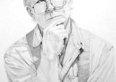 Mike Henderson - Self Portrait