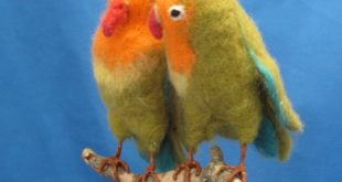 Attwell felting workshop birds