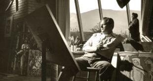 Millard Sheets, 1948 Studio Portrait for LIFE Magazine